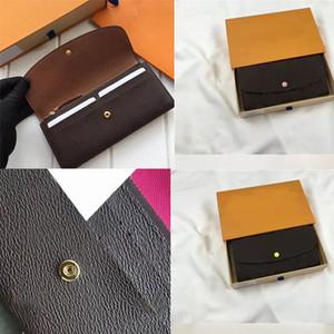 Lussurys Designer WalletPurses Colorful Ladies Portafoglio da donna Porta carte da donna Designer Femminile M60136 Portafoglio Portafoglio Pocket Storage Storage BA