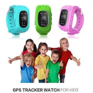 Smart Watch Q50 Wristwatch Smartwatch Wholesale SmartWatches Child GPS Tracker Bluetooth Smart Watches Remote Monitor Double Locate SOS Kids