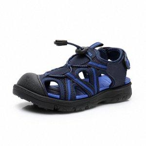 Apakowa cheville unisexe enfants garçons Sandales creux Respirant Sandales tout-petits HookLoop Sport Summer Girl Chaussures enfants FGMN #