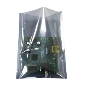 Open Top Grey Transparent Electronic Accessories Shielding Anti Static Package Bags Accessory Accessorio Computer Packaging Borsa antistatica LX3265
