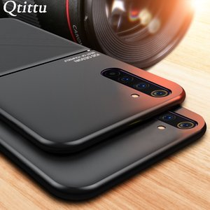 Case for OPPO Realme 6 Pro Case Cover Magnetic TPU Silicone Moire Leather Bumper Phone Case for OPPO Realme XT X2 PRO 6Pro Cover