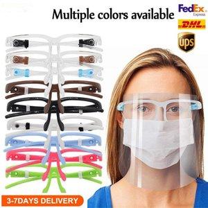 Prevenir Anti-Fog Máscara Facial Máscara protectora da Sheild à prova de respingos Proteção Adulto e Poluição Crianças Oil Criança Goggle Njpqm