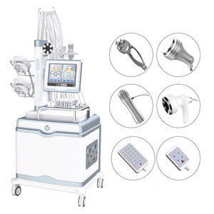 New arrived 6 in 1 slimming machine cryo cryotherapy cryolipolysis laser lipo laser liposuction rf cavitation body shaping machine for salon