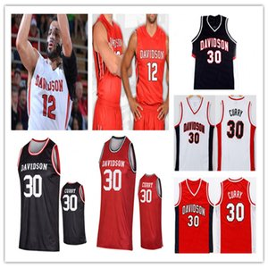 Custom NCAA Basketball Davidson Wildcats Jersey Kellan Grady Hyunjung Lee Carter Collins Luka Brajkovic Sam Mennenga Curry Michael Jones