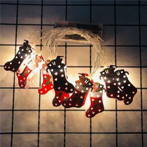 Light String Cartoon Xmas Motif 1.65m 10 LED 3m 20 LED Christmas Outdoor Light Decoration CCE2272