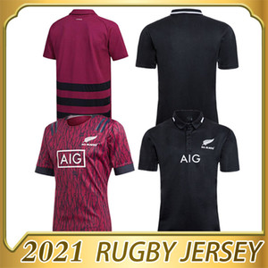 2020 All Black Super Rugby Jerseys Sevens Camisa de Rugby Maillot Camiseta Maglia Tops S-5XL