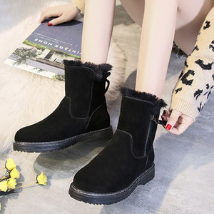 Women Winter Warm Snow Boots Ladies Warm Ankle Boot Comfortable Shoes plus size 35-40 Casual Women Mid Boots