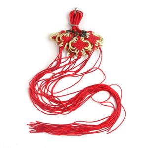 10 stück mini chinesische Knoten Quasten Anhänger Zubehör Home Textilvorhang Kleidung Quaste Handwerk Seil DIY Dekoratives Material H Jlljte