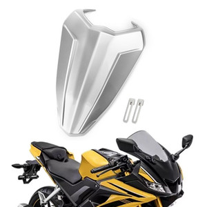 Areyourshop Motorcycle Silver ABS Rear Seat Fairing Cover Cowl For Yamaha YZF R15 V3 2017-2019 Motorbike Accessories Parts