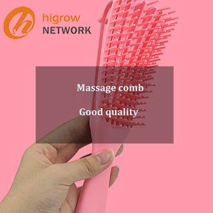 2021 Best-Best-Bestelling Massagem Massagem Detangling Brush Natural Cabelo Detangler Embarangle Remoção Pente Poderoso Função Deslizante Design