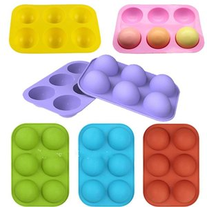 Chocolate Molds Silicone for Baking Semi Sphere Silicone Molds Baking Mold for Making Kitchen Hot Bomb Cake Jelly Dome Mousse DDC5124