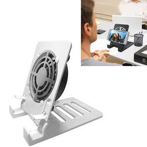 Desk Air Circulator USB Table Portable Fan,Small Personal Smartphones Stand Holder Cell Phone Stand Cooling Cooler Fan Cooling