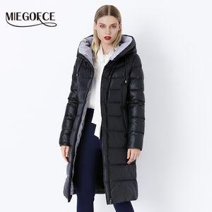 MIEGOFCE 2019 del rivestimento del cappotto incappucciato caldo di inverno donne parka Bio Fluff parka Cappotto di qualità di Hight Femminile Nuova Collezione Inverno caldo T5190612