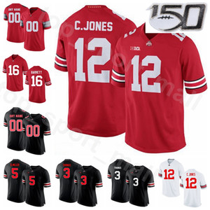 NCAA Football Ohio State Buckeyes College 12 Cardale Jones Jersey 3 Michael Thomas 5 Braxton Miller JT Barrett Limited Custom Name Number