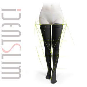 Idealslim 23-32MMHG Graduate Kompressionsstrümpfe Frauen Druck Knie High Socken Geschlossene Zehe LJ201224