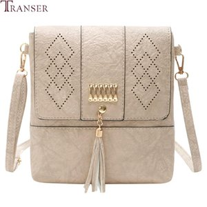 Transer Female Shoulder Bags Hollow Out Cover Tassel Handbags Women Famous Brands Small PU Leather Evening Clutch Crossbody Bags
