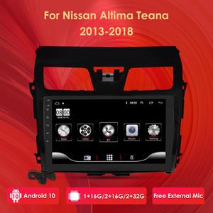 10-Zoll-Android 2G RAM 32G ROM-Auto Multimedia GPS-Navigation Autoradio für Nissan Altima Teana 2013-2018 Canbus Externes Mic