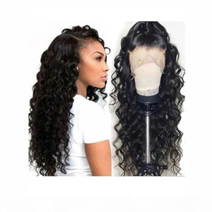 100% Unprocessed Human Hair 360 Lace Wigs With Baby Hair 9A 10A Loose Wave Brazilian Human Wig For Black Women human hair wigs