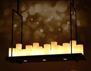 American Style Ferro Candeliere Lampada a sospensione, creativo industriale Vento lampadario, classico hotel Ingegneria, Atmosfera Soggiorno Lampada