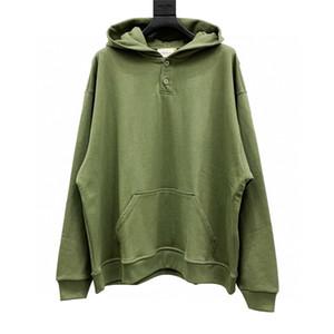 Dernier top 19fw Peur de Dieu Outdoor Henry Collier Bouton Bouton Jackets Sweats à capuche pour femmes Mens Vêtements Coton-rembourré Vestes Livraison gratuite