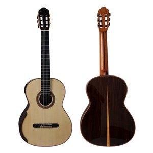 Yulong Guo Handmade Double Top Classical Guitar Model Chamber Nomex Double Top Classic Guitar