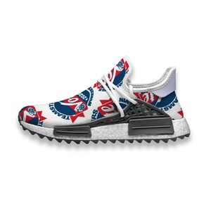 Custom Running Shoes America Vote 2020 Human Race NMD Trail Mens casual Sneakers breathable