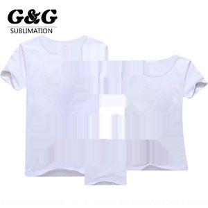 WiD5s Calor T-shirt transferência de sublimação de calor em branco modais meninas impressão brancos e meninos publicidade T-shirt cultura 76GmD