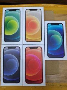 50pcs / DHL alta qualidade Mobile Phone pacote da caixa para o telefone 12mini 12 12 Pro max embalagem Retail Caixa vazia