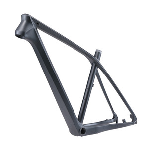 Carbon fiber 29in mountain bike frame, 2020 MTB T800 carbon fiber lightweight mountain bike frame 29 27.5 26 in