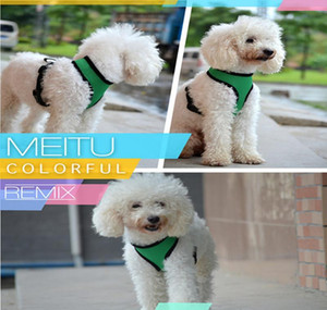 Clothes Soft For Pet Fashion Dog Harness Nylon Air Dog Promotion Pet Vest Harness Cw002 Mesh Clothes sqcdk dh_seller2010