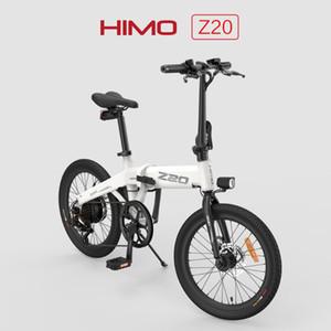 [EU STAock] Himo Dobrável Bicicleta Moped Elétrica Z20 C20 Z16 Ebike 250w Motor Cinza Branco Elétrico Bicicleta de Xiaomi Youpin