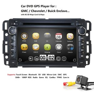 """For Chevrolet Silverado 2007-2012 7"""" 2Din Touch Car CD DVD Player Stereo GPS Navigation DAB SWC RDS AM FM DTV MAP 3G TPMS Camera"""