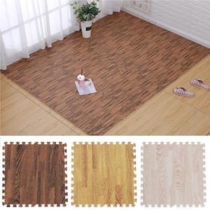 Baby Foam Puzzle Play Mat DIY Wood Grain Soft Playmat Crawling Carpet for Children Kids Newbown Exercise Floor Interlockin
