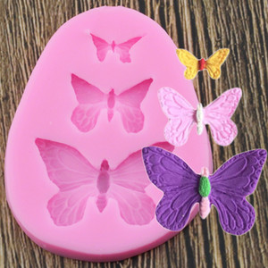 Sugarcraft Butterfly Silicone Molds Fondant Mold Cake Decorating Tools Chocolate Moulds Wedding Decoration Mould
