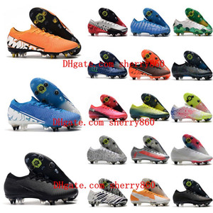 2020 Mens Fußballschuhe Mercurial Superfly 13 Elite SG-PRO AC Fußballschuhe niedrige Fußballschuhe CR7 Neymar im Freien Fußballschuhe heiß