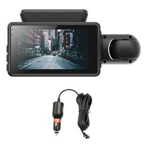 Car DVR Camera Lens FHD Dash Cam 1080P IPS Screen Night Vision Parking Monitoring -Driving Recorder