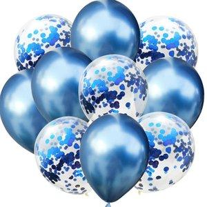 10pcs 12inch Latex Air Balloons Happy Birthday Party Decoration Wedding Helium Ballon Valentine's Day Baby Boy Girl Kids Rose bbyYnu