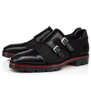 Lujo inferior rojo acertado del hombre de los holgazanes para la boda, vestido, partido Hubertus para hombre Oxford Walking cuero auténtico Lug Sole Walking mocasín del zapato