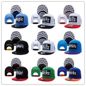 more styles Basketball Heats Snapback Caps for Mens Womens Baseball Football Cap Flat Adjustable Cap Sports Hat mix order