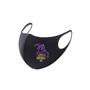 Cycling Face Fortress Night Mask Sport Outdoor Training Masks PM2.5Pollution Defense Running Fortress Night Mask Activated Carbon Filter #357