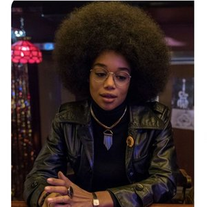 Estilo Africano curto Pixie Cut Cabelo Preto Perucas Afro Kinky Perucas Remy curto perucas de cabelo brasileiro