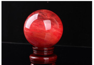 48--55 Mm Red Crystal Ball Red Smelting Stone Crystal Ball Sphere Crystal Healing Crafts Home Do jlluKA yummy_shop
