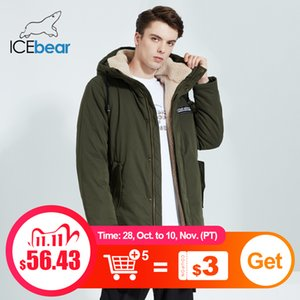 ICEbear New men's Winter Jacket stylish Shorts Coat Windproof and Warm Male Brand Clothing MWC20887D 201111