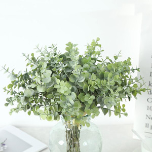 Lan Kwai Fong Artificial Plant Eucalyptus Leaves Money Leaf Tie Beam Home Decoration Green Vegetation