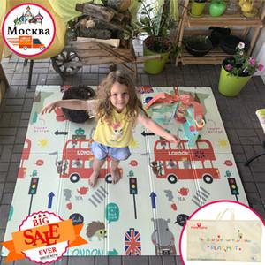 Miamumi portatile pieghevole Arrampicata Giochi Puzzle per bambini Mat ispessite camera strisciante Game Pad coperta del bambino Carpet