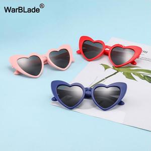 Werben Kinder Kinder polarisieren Sonnenbrillen Fashion Heart Shaped-Jungen-Mädchen-Gläser UV400 Baby-Flexible Sicherheitsrahmen Brillen