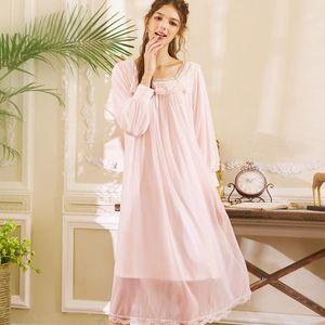Wasteheart Kadınlar Moda Kadın Beyaz Pembe Seksi Pijama Gecelik Dantel Gecelik Sleepshirt Nightgown Pijama Lüks Gown1