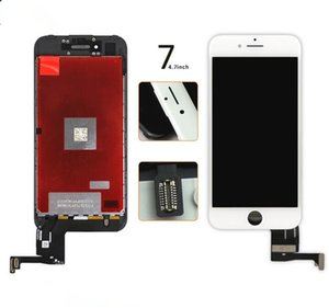 Original LCD Display Touch Digitizer Complete Screen with Frame Full Assembly Replacement for Grade A iPhone 7 DHL shipping