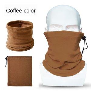 ve Açık Sonbahar Koreli Windproof Sıcak Kış Tek Katman Polar Polar Spor Eşarp Kazak Çift amaçlı Şapka Ra Maske