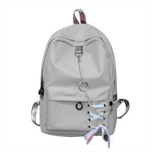 Fashion big capacity shopping bag laptop backpack rucksack canvas bags student womens school Bags